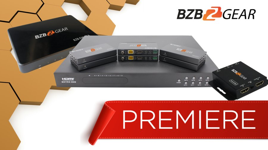 BZB Express Brings Quality AV and Broadcasting at the Best Price with BZBGEAR
