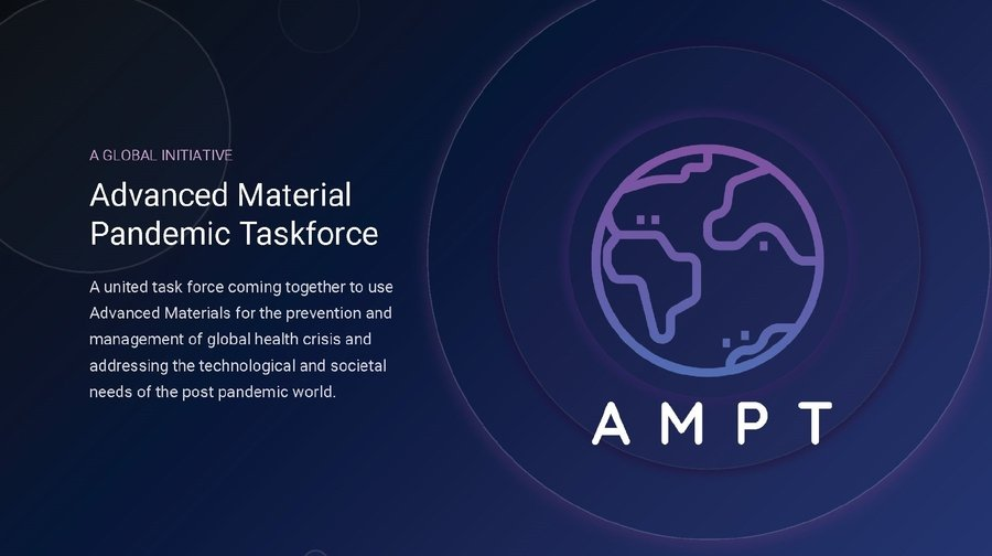 Global Advanced Materials Pandemic Task Force (AMPT) Names Steering Committee and Announces the Launch of the AMPT Network