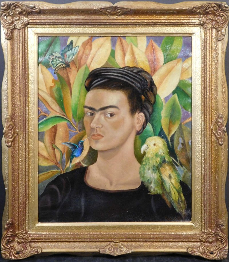 Artworks done in the style of, or are attributed to, master artists will be in 500 Gallery's online-only auction June 17