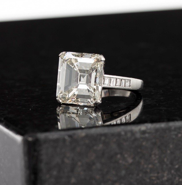 12-Carat Diamond Ring Realizes $143,750 in Andrew Jones Auctions' First-Ever Fine Jewelry, Watches & Timepieces Sale