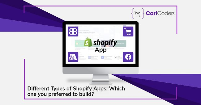 Various Types of Shopify Apps. Which one you preferred to build?