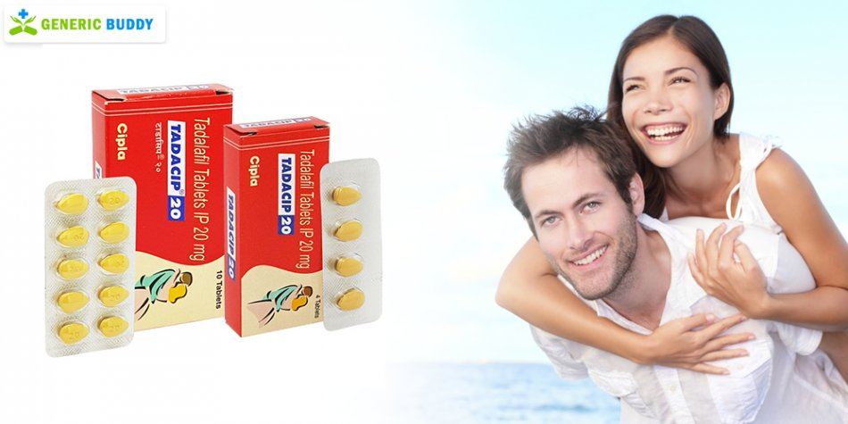 Resolve all your erection issues using Tadacip 20