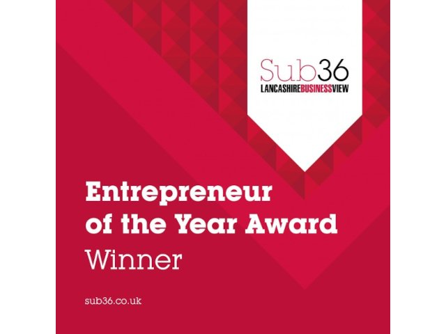 Aaron Crewe Wins Entrepreneur of The Year Award 2020
