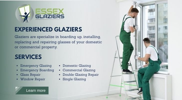 Essex Glaziers offer quality glazing services for the needs of clients