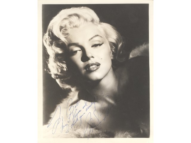 Letter Signed by Thomas Jefferson, Photo Signed by Marilyn Monroe are in One of a Kind Collectibles' December 17 Auction