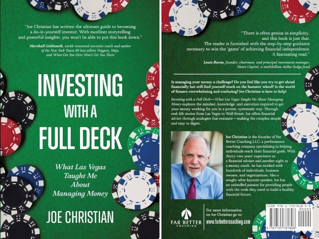 Groundbreaking Book Just Published Entitled Investing with a Full Deck - What Las Vegas Taught Me about Managing Money