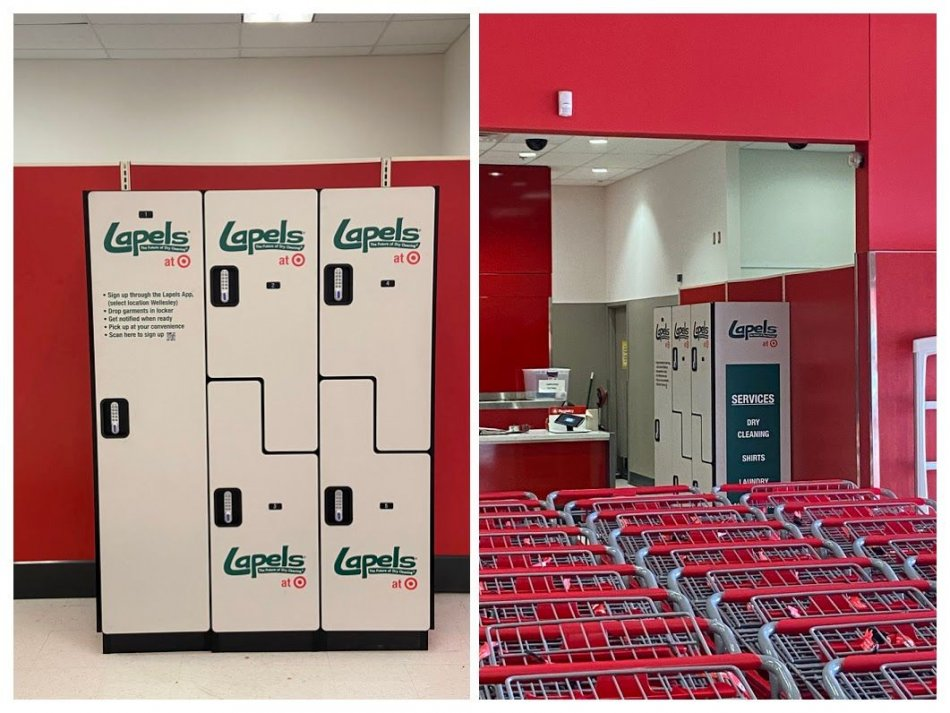 Lapels Dry Cleaning and Target Partner on Pilot Program at Framingham, MA and Watertown, MA Locations