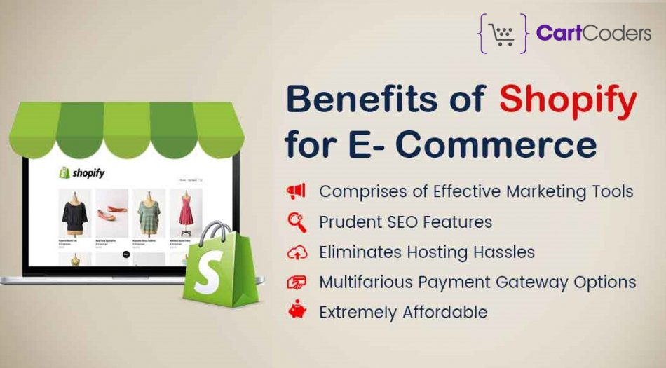 Advantages of Shopify for Your eCommerce Website Development