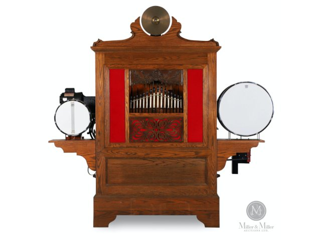 Miller & Miller's Online-Only Music Machines, Clocks & Canadiana Auction, March 20, Boasts four Outstanding Collections
