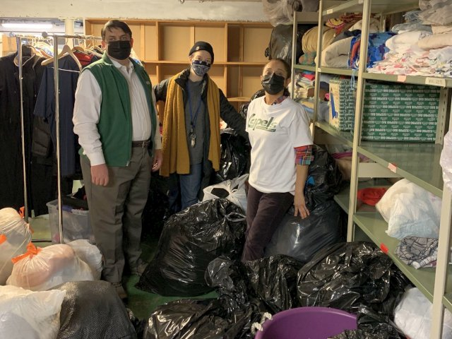 Lapels Dry Cleaning of Wilmette Completes Second Annual Winter Gear Drive with Connections for The Homeless
