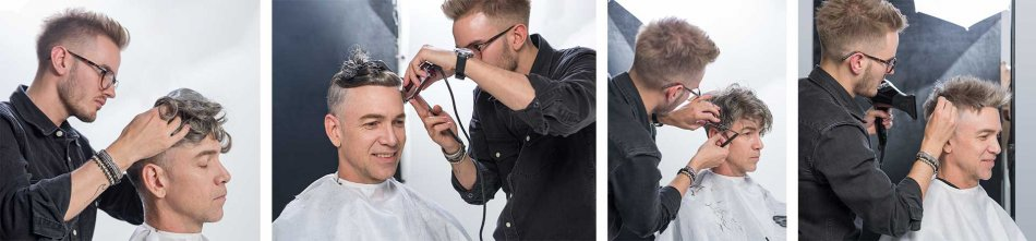 the development of the male lace front