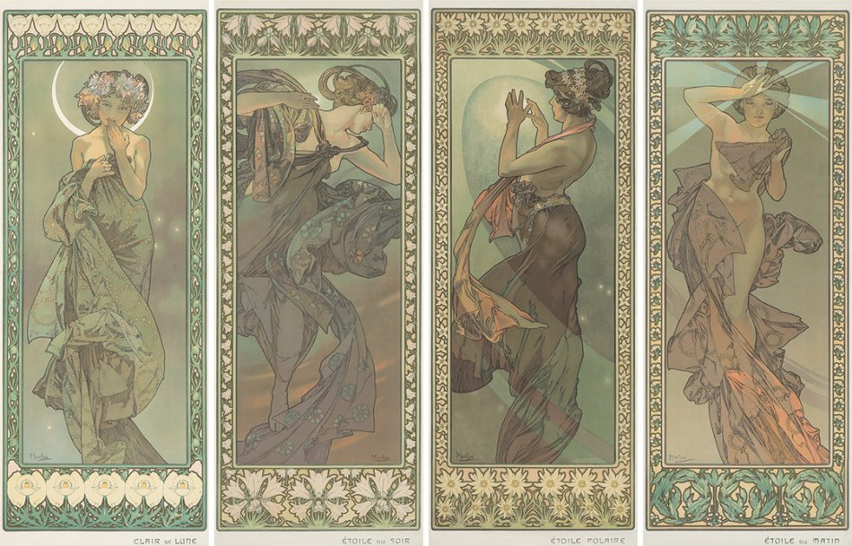 Poster Auctions International's Rare Posters Auction LXXXIV, held July 20th, Totals $1.9 Million; Mucha Steals The Show